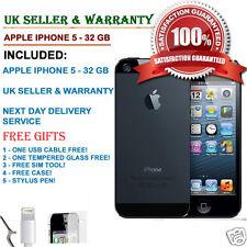 Apple iPhone 5 - 32GB - Black & Slate (Unlocked) Smartphone UK SELLER*** GRADE C