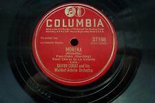 Xavier Cugat 78 giri/min MORENA/touradas EN Madrid noi COLUMBIA 37198