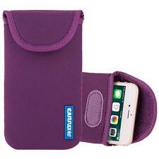 Caseflex apple iphone 5/5S/se case best néoprène étui peau housse violet