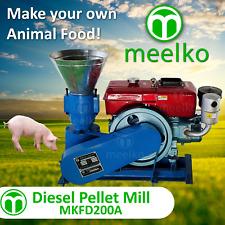 Pellet Mill 15Hp Diesel Engine Pellet In Stocked Usa (6Mm Pork)