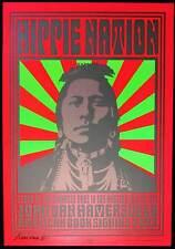 John Van Hamersveld Poster Hippie Nation Book Tales of Hendrix & Griffin Signed