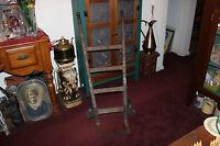 Antique Wood Metal Handcart Handtruck Farm Barn Industrial Cart Country Decor