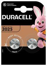 2x Duracell Batterie 2025 CR2025 DL2025 ECR2025 Battery 3V Lithium Knopfzelle