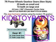 1st Gear First Gearbox Gear for the Power Wheels Jeep Hurricane Ride On Cars