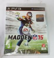 Madden 15 2015 Playstation 3 PS3 Brand New and Sealed