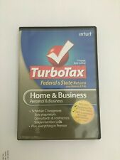 2010 Turbotax Home & Business Federal & State CD PERSONAL & SMALL BUSINESS