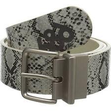 686 Women Lynx Reversible Belt (L/XL) Brown Python *****