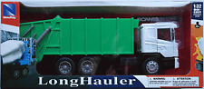 NewRay - Scania R124/400 LKW Müllwagen weiß/grün 1:32 / Spur 1 Neu/OVP