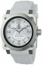 Christian Audigier Unisex Fortress Silver Dollar Stainless Steel Watch (FOR-216)