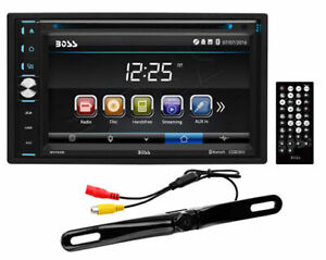 "Boss Elite BV765BLC Double DIN Bluetooth 6.5"" TFT In-Dash Receiver w/ Camera"