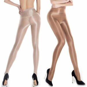 AU Womens Sexy 70D Oil Shiny Glossy Shape Body Pantyhose Stocking Tights Hose