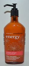 NEW BATH & BODY WORKS AROMATHERAPY ENERGY ORANGE GINGER BODY LOTION HAND CREAM