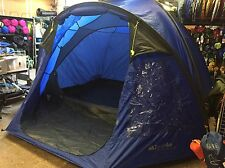 Eurohike Cairns Deluxe Five 5 Man Berth Person Dome Tent Porch Blue RRP £170