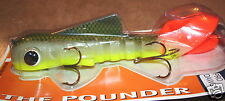 "15"" Super Magnum Pro Bull Dawg Pounder Musky Innovation Pickle Back Plastic Body"