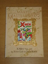 MARVEL MASTERWORKS X-MEN #1-10 MARVEL COMICS  HARDBACK GRAPHIC NOVEL 0871353083