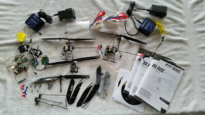 Blade mCPx helicopter BNF PARTS LOT