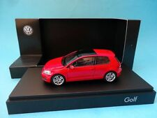 VOLKSWAGEN GOLF VII 3 DOORS 3P - 2012 - RED / ROJO - 1/43 NEW HERPA VW DEALER