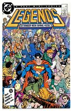 LEGENDS #2(12/86)1:NEW SUICIDE SQUAD(CAMEO)BATMAN/FLASH(CGC IT)9.6(JOHN BYRNE)!!