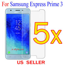 5x Clear Screen Protector Guard Cover Film For Samsung Galaxy Express Prime 3
