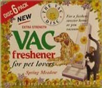 Vac Freshener 6 Pack For Pet Lovers Spring Meadow Hoover Bag Vacuum Cleaning