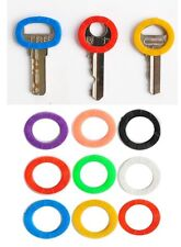 Plastic Key Cap Top Cover Caps Tag Head Id Markers Yale Key Toppers Mix Colors
