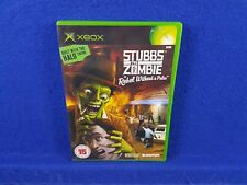 *xbox STUBBS THE ZOMBIE In Rebel Without A Pulse (NI) Microsoft PAL UK