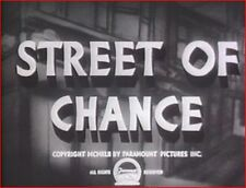 STREET OF CHANCE 1942 Mystery Thriller w/Burgess Meredith, Claire Trevor