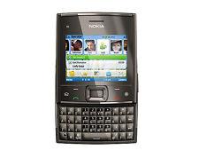 Original Genuine Nokia X5 X5-01 Qwerty Pda Quad Metal 3G 5Mp Mobile Phone