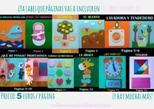 Quiet book - Libro sensorial de fieltro - 6 Actividades a elegir - Hecho a mano