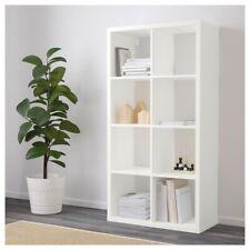 "IKEA FLYSTA Shelf unit, white, 27 1/8x52 """
