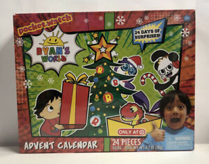 Ryan's World Advent Calendar 2019 Target Exclusive 24 Toy Surprises Brand New