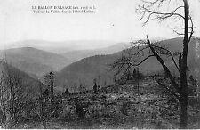 France - Le Ballon d'Alsace, Vue depuis l'Hotel Lalloz - Postcard Written 1926