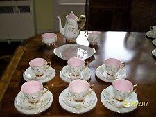 Royal Albert Braemar tea pot desert set for six
