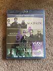 Triple Feature Blu-Ray Matrix Reloaded Revolutions Trilogy