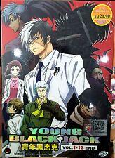 Young Black Jack (Chapter 1 - 12 End) ~ DVD ~ English Subtitle ~ Japan Anime