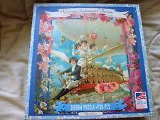 750 Piece Jigsaw Puzzle VICTORIAN FLYING TEAM NEW 2005 CAROLYN GROSSMAN New