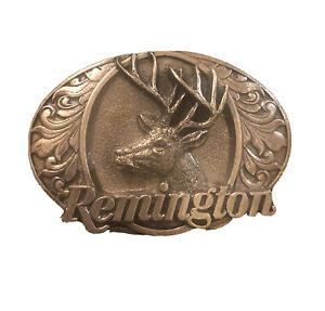 REMINGTON BELT BUCKLE 1994