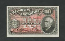 ARGENTINE - 10 centavos 1895 P228 Universel-billets