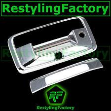 15-17 Chevy Silverado 2500+HD Triple Chrome Tailgate w/Keyhole+Camera hole Cover