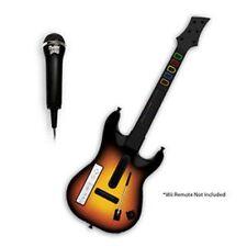 Wii Wireless GUITAR Hero World Tour + Mic/Rock Band 2