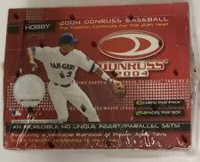 2004 Donruss Baseball Hobby Box Factory Sealed