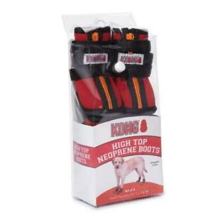 KONG High Top Neoprene Dog Boots - protection from the harshness of cold weather
