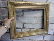 "really old picture frame ANTIQUE fits a 15 inch X  11"" painting"
