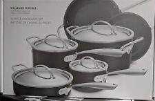 NIB 10-pc Williams Sonoma Hard Anodized Copper Core nonstick cookware set pans
