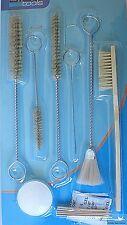 Reinigungsset Pflegeset Reingungsbürsten für Lackierpistolen 12teilig