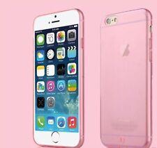 Nuevo Y Original transparente rosa caso cubierta trasera para Apple iPhone 6/6S/4,7 pulgadas