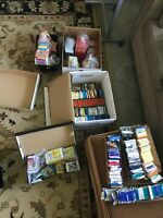 HUGE LOT OF UNOPENED SPORTS/TV CARDS