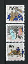 Germany 1990 POST AND TELECOMMUNICATIONS SC B694-696 MNH
