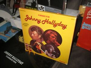 Johnny Hallyday-Coffret 33T-4 disques d or -Tbe- 1976