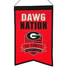NCAA Football GEORGIA BULLDOGS DAWG NATION College Wimpel Pennant Banner